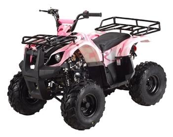 Pink camo 125CC ATV