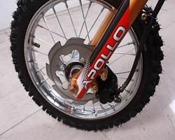 front disc brake 125cc Apollo