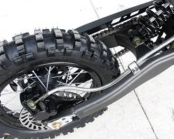 Apollo Dirt bike Rear Wheel