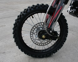 Apollo dirt bike front wheel