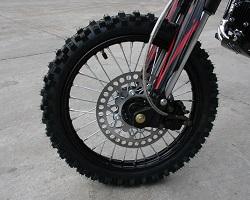 Apollo dirt bike front wheel