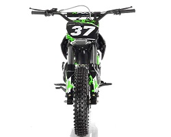 Green Dirt Bike