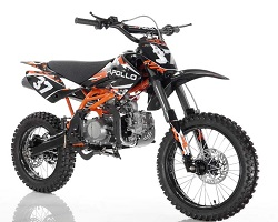 Apollo 125cc Dirtbike Orange AGB-37CRF-2