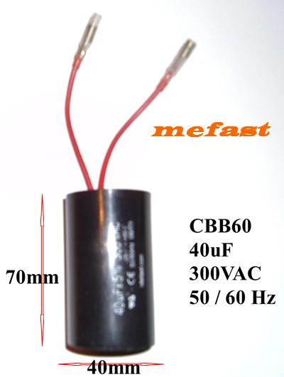40uf 300VAC Capacitor CBB60