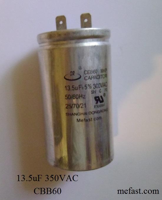 CBB60 13.5uF 300VAC