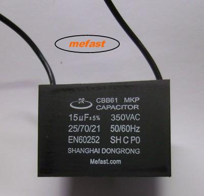 CBB61 15uF 350VAC voltage regulator