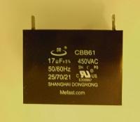 CBB61 17uF 450VAC