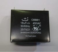 CBB61 18uF 450VAC Capacitor
