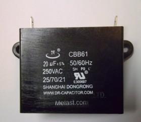 CBB61 20uF 250VAC capacitor