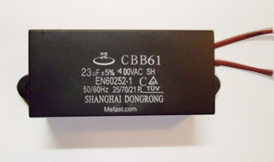 cbb61 23uF 400VAC wired