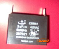 Generator Capacitor CBB61 3uF