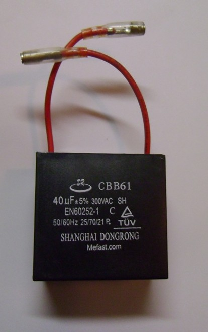 CBB61 40uf 300VAC capacitor