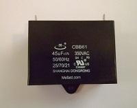 CBB61 45uF 350VAC Capacitor mefast