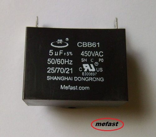 CBB61 5uF 450VAC