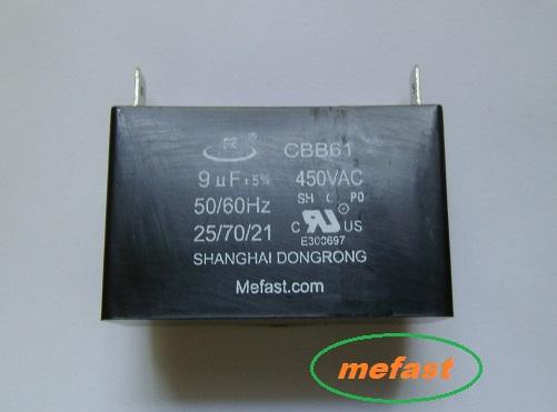 CBB61 9uF 450VAC