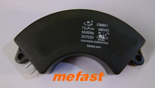 CBB61 12uF 450VAC Round Type