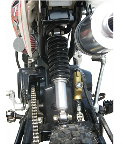 125cc Dirt bike Mono Shock