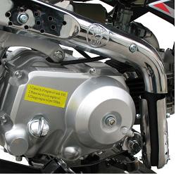 Dirtbike 110cc engine