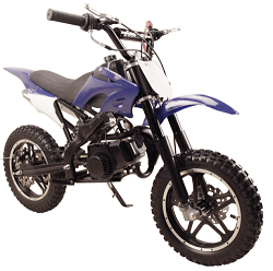 QG-50X 49cc 2 stroke mini dirt bike,                   Fully automatic, Pull start