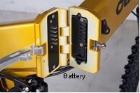 In frame battery