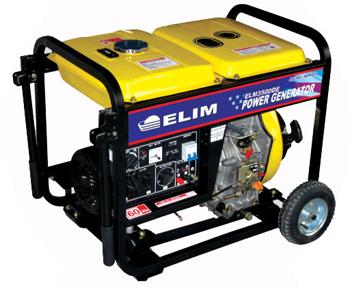 ELM3500DE 3.5 KW Diesel Generator