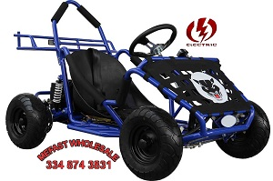 Electric Go Kart, no gas needed