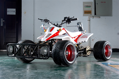 Drive A Tank >> New Japanese racing style quad