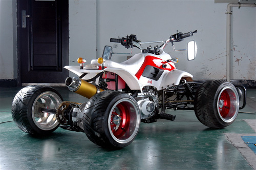 What Is Transmission >> New Japanese racing style quad
