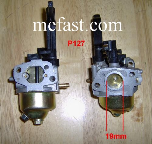 6.5 HP carburetor P127 Carburetor