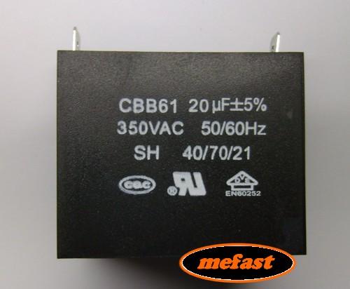 CBB61 19uF 250 VAC Capacitor