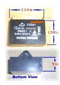 CBB61                     12uF 350VAC