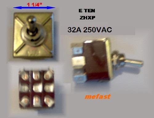 generator voltage selector switch eten 303 32a 250v. Black Bedroom Furniture Sets. Home Design Ideas