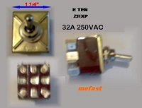 Generator, Voltage Selector ,Switch