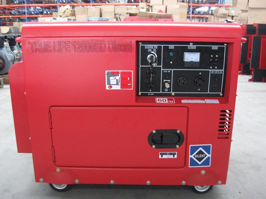 12,000 Silent Generator