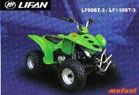 LF90ST-3 Lifan 90cc ATV