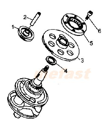 Service And Repair Manuals Cg125 Cg200 125cc 200cc 250cc Chinese Atv Engine Repair Manuals P 241 furthermore Polaris Ranger Turn Signal Wiring Diagram in addition Hammerhead 250cc Parts in addition Mag o For Motorcycles moreover Partslist. on 125cc clutch diagram