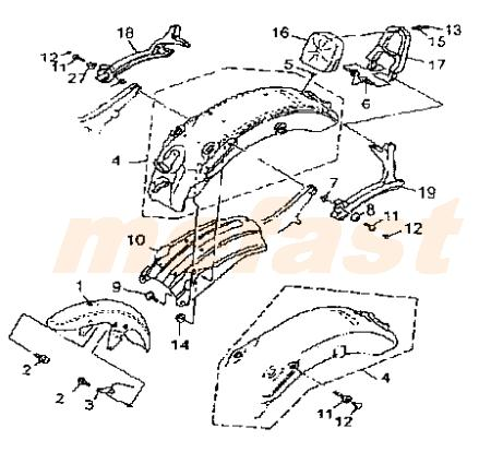 Lifan 250 V Twin 250cc Parts Frame Mefast Owners Manual