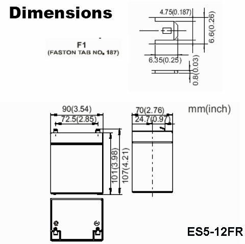 ES5-12FR