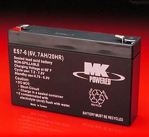 ES7-6 6 Volt Battery