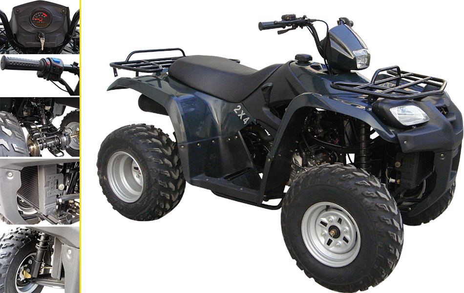 ATV-01  260CC Water Cooled, Shaft Drive