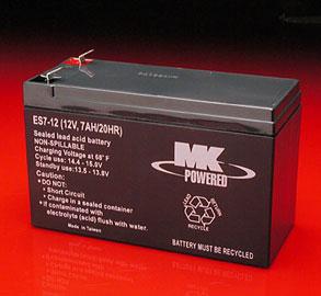 Battery ES7-12 7amp