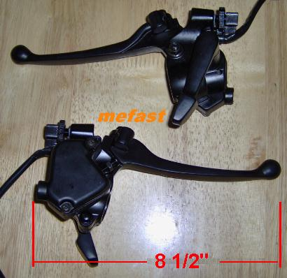 ATV Brake Throttle