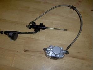 Foot Hydraulic Disc Brake System