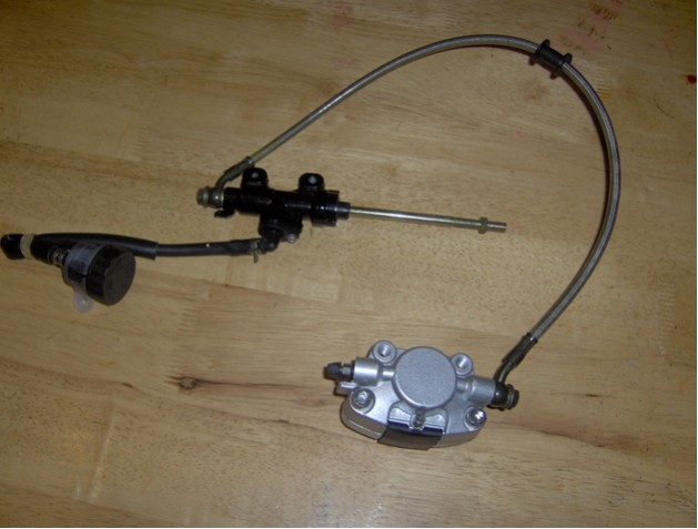 Hydraulic Foot Operated Brake System