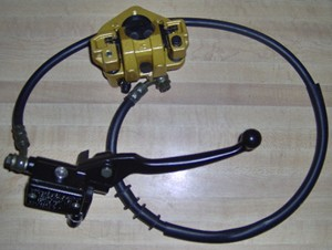 Right Hydraulic Brake System