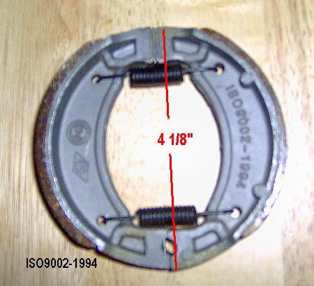 ISO9002-1994 Brake Shoe