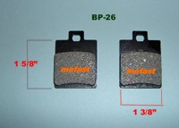 Moped Brake Pad
