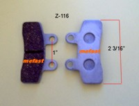 Z-116 Brake Pad