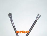Enduro type speedometer cable