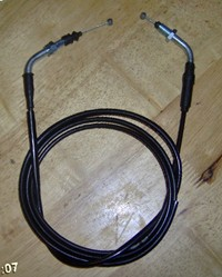 Moped throttle cable